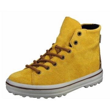 Ricosta Schnürstiefel gelb