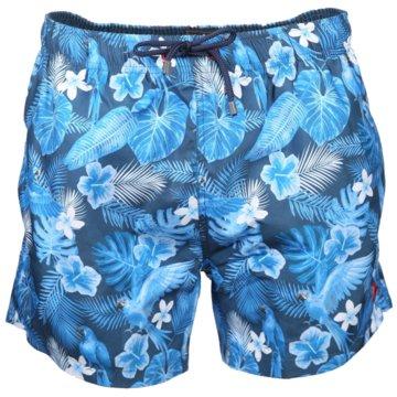 Ragman Shorts blau