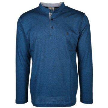 wind sportswear Langarmshirts blau