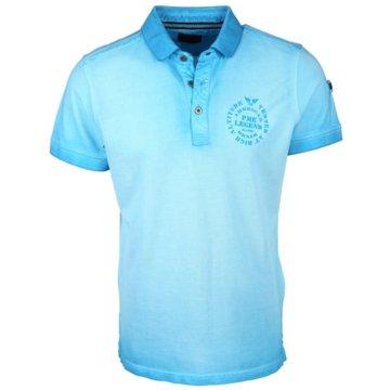 PME Legend Poloshirts blau