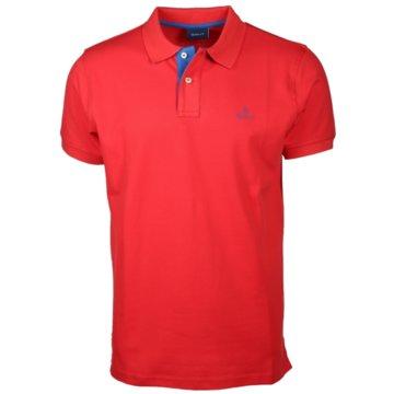 Gant Poloshirts rot