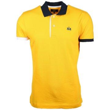La Martina Poloshirts gelb
