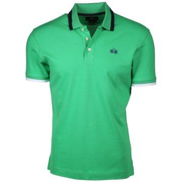 La Martina Poloshirts grün