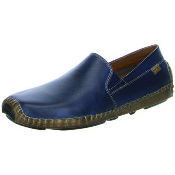 Pikolinos Mokassin Slipper blau