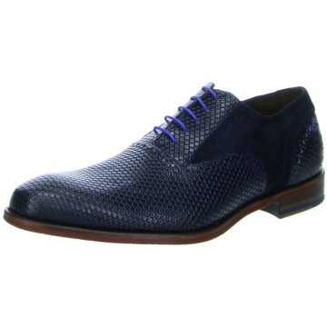 Floris van Bommel Business Outfit blau