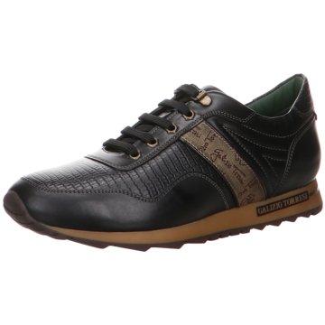 GALIZIO TORRESI Sportlicher Schnürschuh schwarz