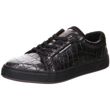Floris van Bommel Sneaker LowFloris Sport DarkSilver Croco animal