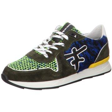 Floris van Bommel SneakerFloris Premium DarkGreen Suede grün
