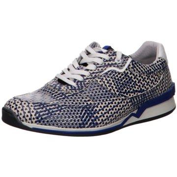 Floris van Bommel SneakerFloris Sport Blue Print blau
