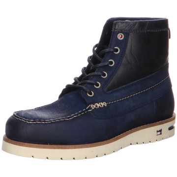 Scotch & Soda SchnürbootLevant blau