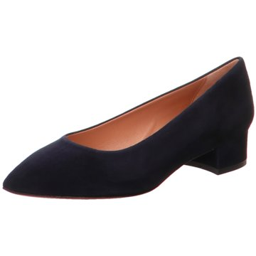 Franco Russo Napoli Flacher Pumps blau