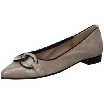 Gabriele Top Trends Ballerinas silber