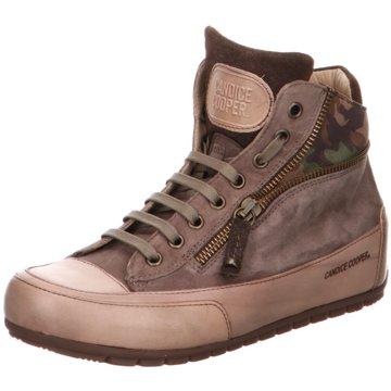 Candice Cooper Sneaker High grau