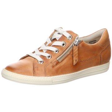 Paul Green Sportlicher SchnürschuhSneaker braun