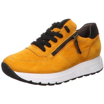 Paul Green Plateau Sneaker gelb