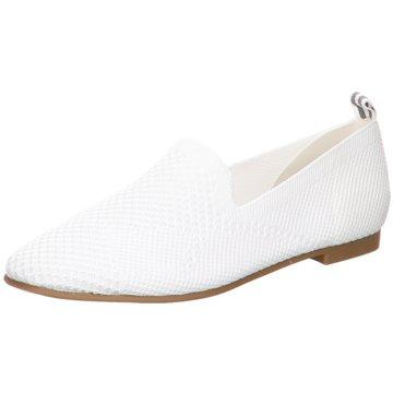 La Strada Slipper weiß