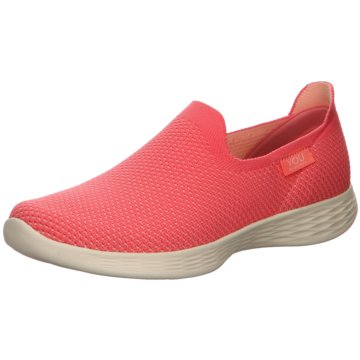 Skechers Sportlicher Slipper rosa