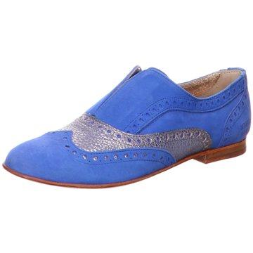 Melvin & Hamilton Klassischer SlipperSonia1 blau