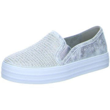 Skechers Plateau SlipperShiny Dancer silber
