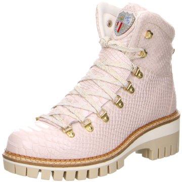 New Italia Shoes Boots rosa