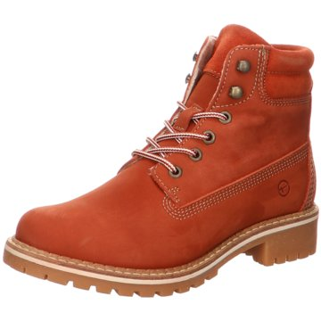 Tamaris SchnürbootStiefel orange