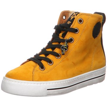 Paul Green Sneaker High4842 gelb