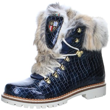 New Italia Shoes Winterboot blau