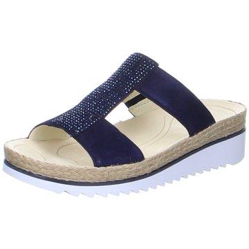 Gabor Komfort PantoletteZehentrenner blau