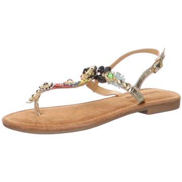 Lazamani Sandalette gold