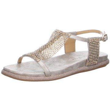 Alma en Pena Sandale silber