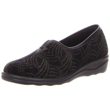 Westland Komfort Slipper schwarz