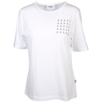 wind sportswear T-Shirts weiß