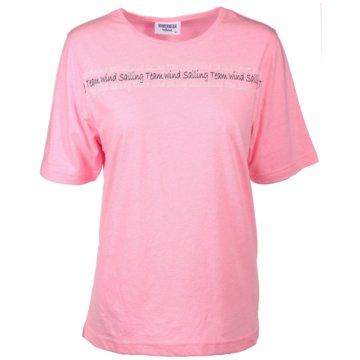 wind sportswear T-Shirts pink