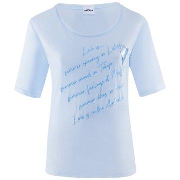 Airfield T-Shirts blau