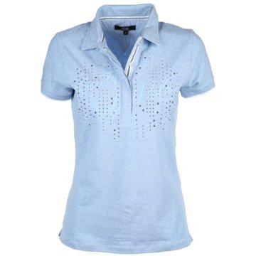 HV Society PoloshirtsAngelina blau