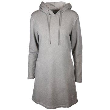 Better Rich MidikleiderLily Dress Hoody grau