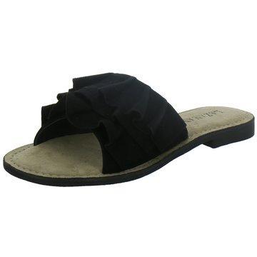 Lazamani Pantolette schwarz