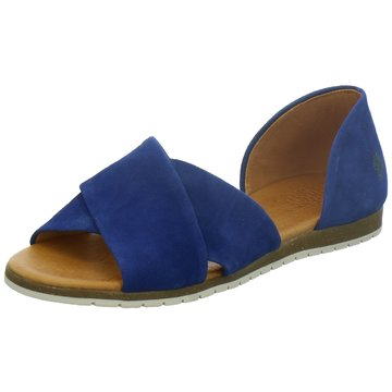 Apple of Eden Peeptoe Ballerina blau