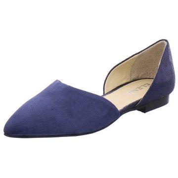 ELENA Italy Klassischer Ballerina blau