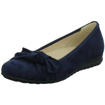 Gabor comfort Keilballerina blau