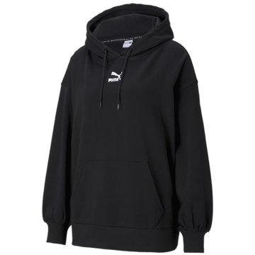 Puma SweatshirtsCLASSICS OVERSIZED HOODIE - 530412 schwarz