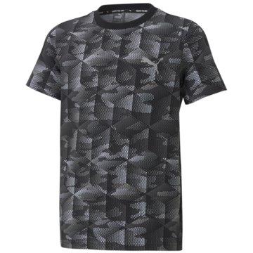 Puma T-ShirtsACTIVE SPORTS AOP TEE B - 585859 schwarz