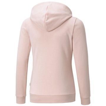 Puma SweatshirtsESS LOGO FULLZIP HOODIE TR - 587048 rosa