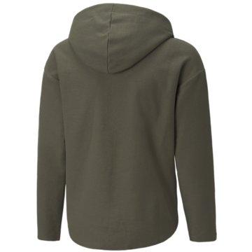 Puma SweatshirtsALPHA FULLZIP JACKET TR G - 589238 oliv