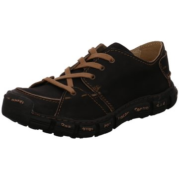 Rovers Komfort Schnürschuh schwarz