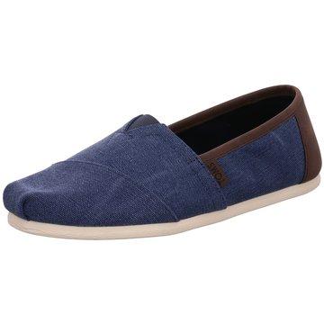 TOMS Klassischer Slipper blau