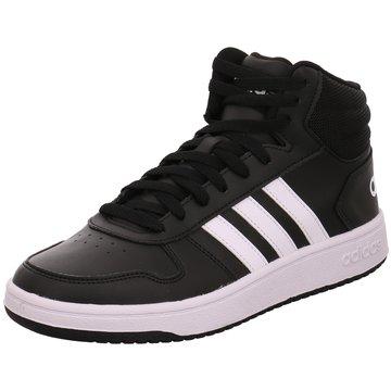 adidas HallenschuheVS Hoops Mid 2.0 Schuh - BB7207 schwarz