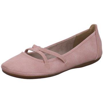Tamaris Riemchen Ballerina rosa
