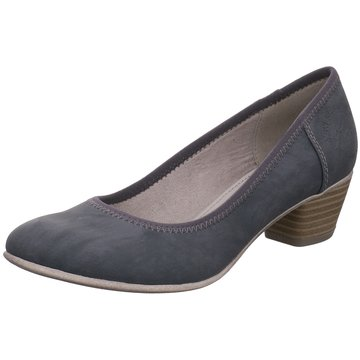 s.Oliver Flacher Pumps blau