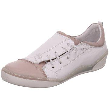 Safe Step Komfort Schnürschuh beige